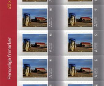 Foto på frimerke