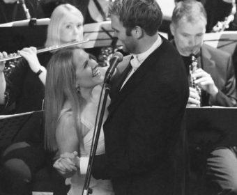 Foto på kirkekonsert